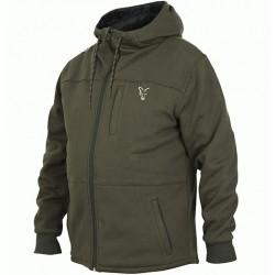 Hanorac Fox Sherpa Hoody, Green/Silver